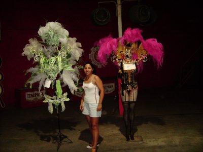 MA PREPARATION POUR LE CARNAVAL 2011 !!!