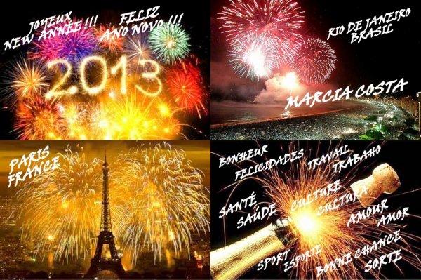 JOYEUX NEW ANNÉE 2013 !!!