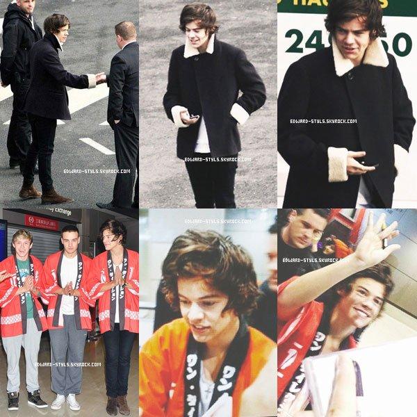 17/01/13 Harry se rendant au studio avec des fans,le 8 Janvier. Alors top ou flop? Moi top !