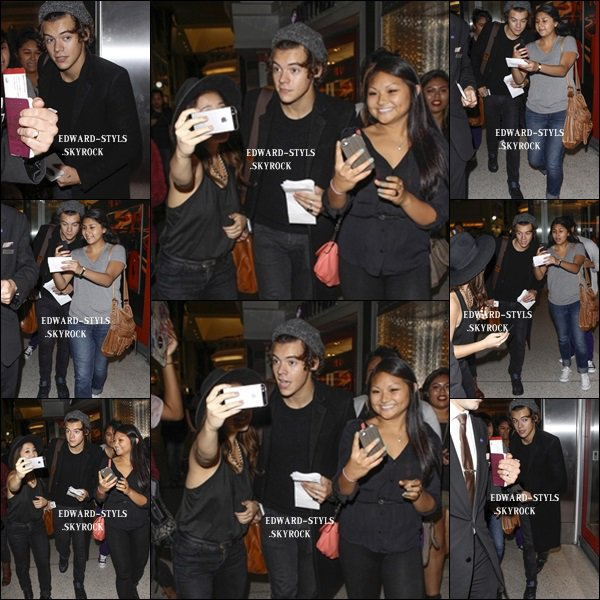 21/09/13 : Harry à l'aéroport de LAX.