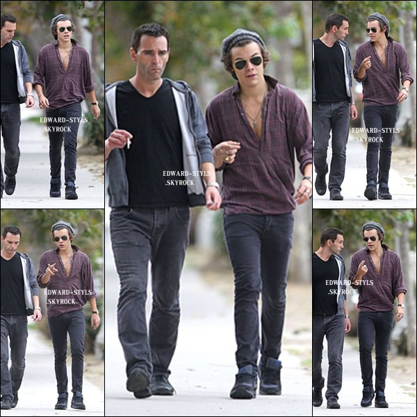 21/09/13 : Harry dans les rues de Beverly Hills.