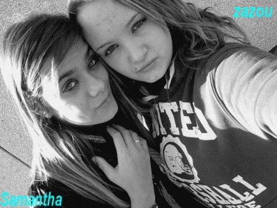 Elisa et moi LOVE YOU ma poulette <3