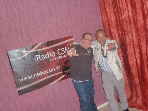 Interview de MARTi's sur Radio CSM avec l'incontournable animateur Pascal