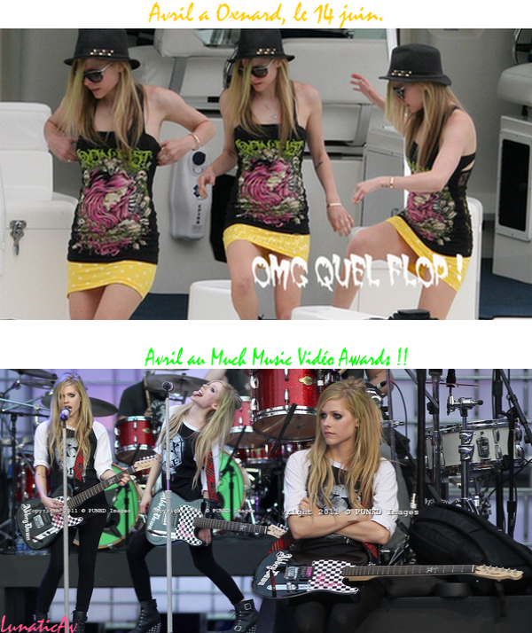 Avril au Much Music Vidéo Awards, si c'est pas cool ça ^^
