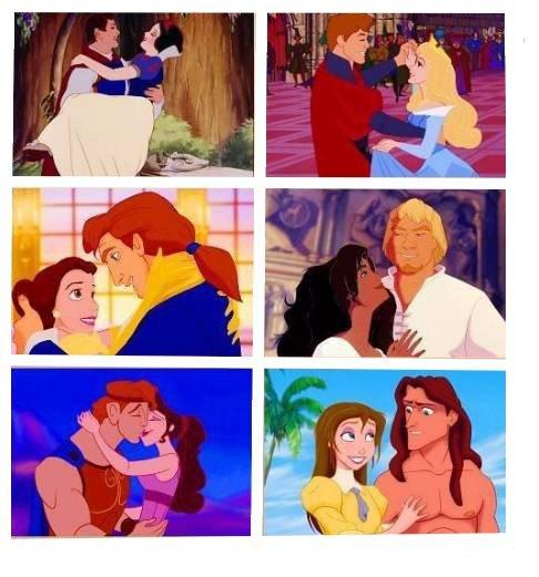 - Quel est le plus beau couple parmi les propositions suivantes ? -