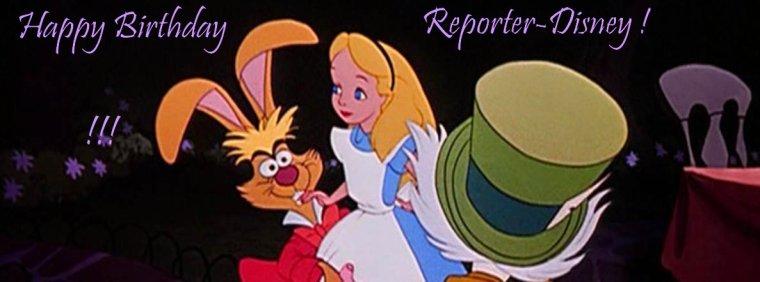 🎁 Joyeux anniversaire Reporter-Disney ! Deux ans ! 🎉