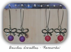 Boucles d'oreilles Romantic - 5