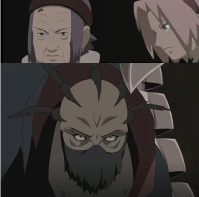La marionette Hiruko Vs Les 2 femmes Shinobi