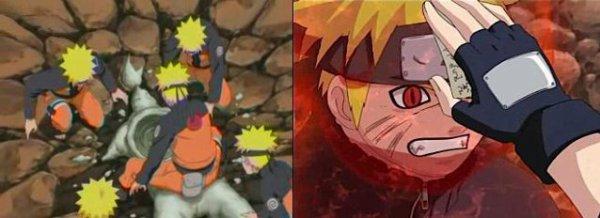 La furie de Naruto