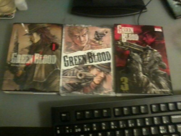 Green blood tome 1 à 3 couverture
