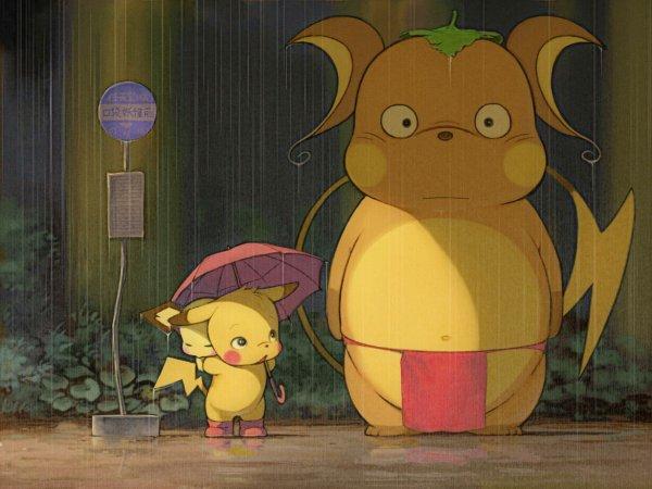 Quand pokemon et inazuma eleven veulent se prendre pour totoro