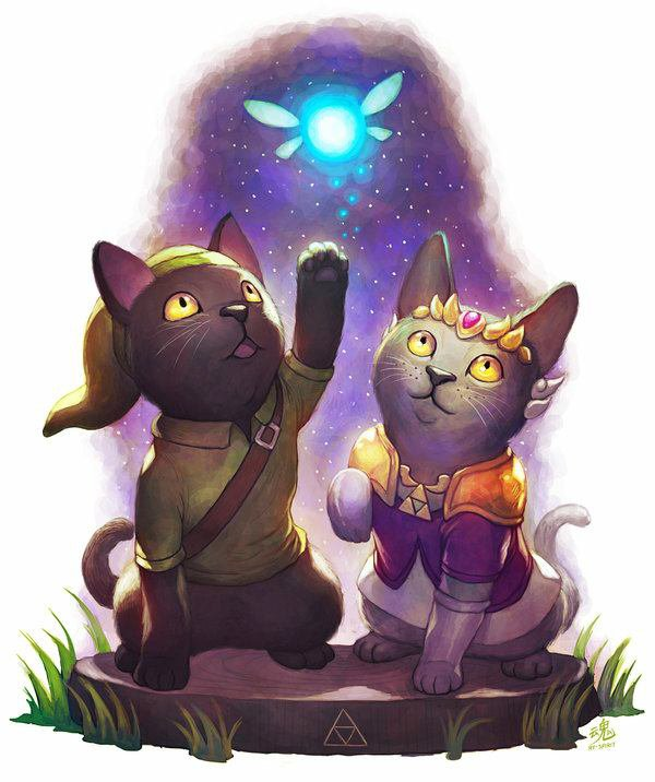 The legend of Zelda... Version chat!