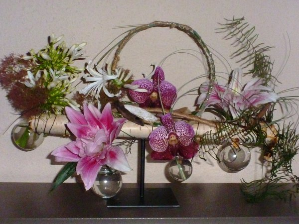 Notre compo rustique de la rentrée florale