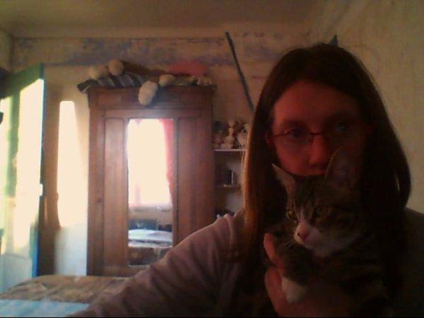 ce  moi avec mon chat