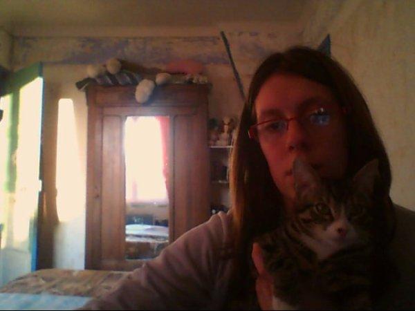 encore moi avec mon chat  jerry