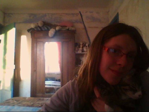 ce encore moi avec mon chat