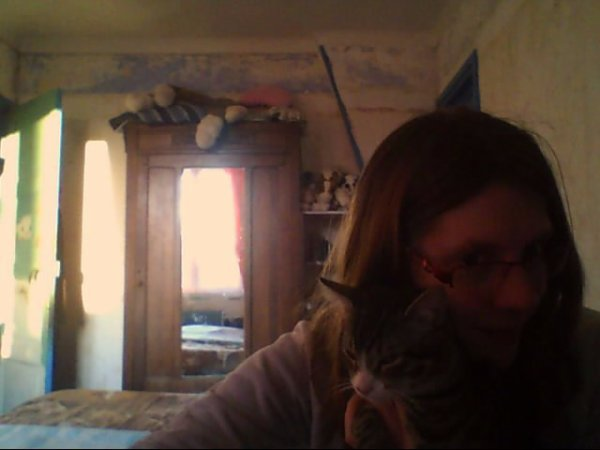 moi avec mon chat jerry