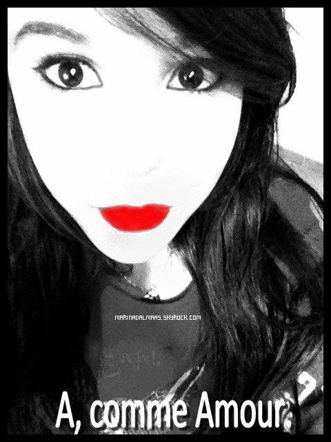 Marina à une nouvelle photo d'avatar et un nouveau texte.
