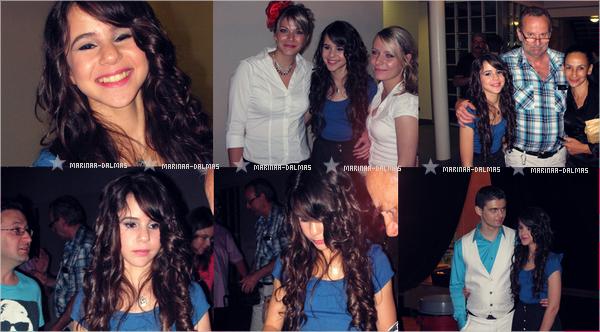-  27/05 ▬ Marina DALMAS et sa famille étais à Wassy dans le 52      -