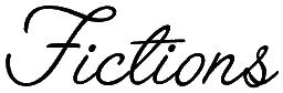 Nos fictions