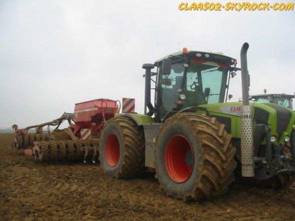 XERION 3800 + Horsch PRONTO 6DC