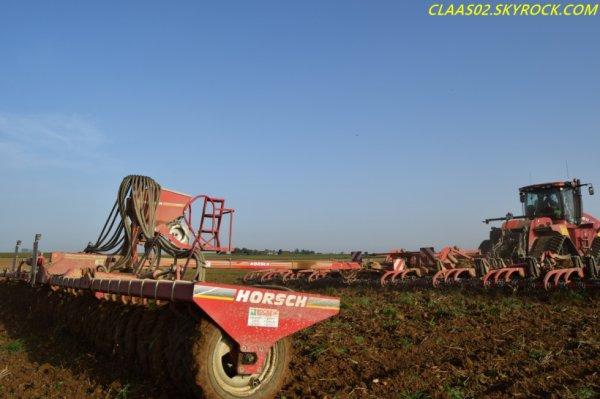 Quatrac 600 + Horsch Terrano 12 FG