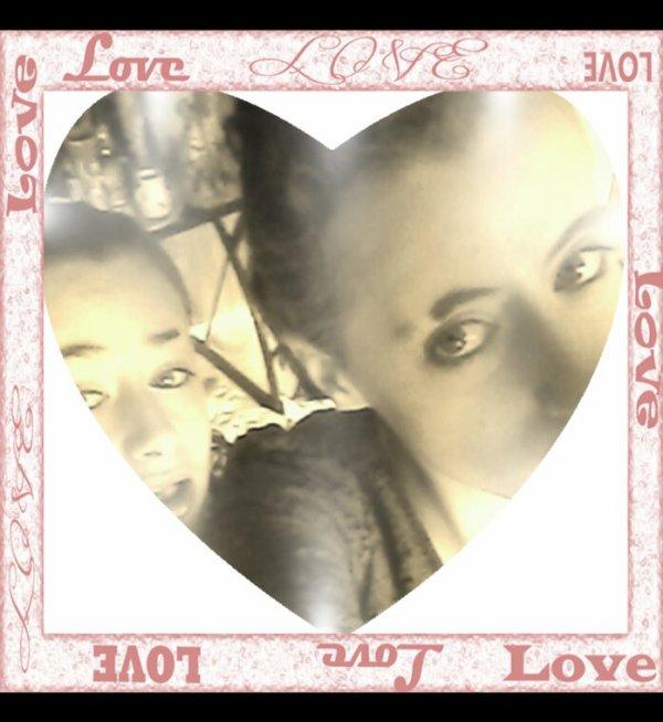 Moi et ma petite soeur ❤❤?