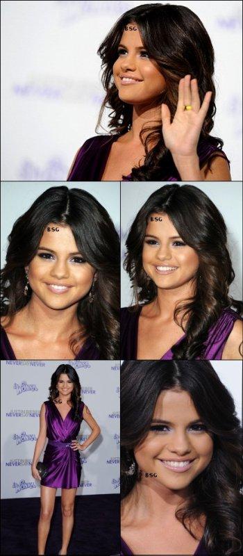Selena Magnifique à l'avant premiére du film de sont (ont imagine) petit copain !