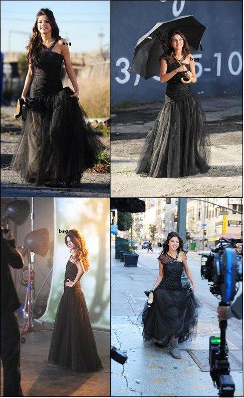 """Selena en pleins tournage de son nouveaux clip """"Grafiti"""" Je la trouve sublime et j'ai très hate de voir le clip ^^"""