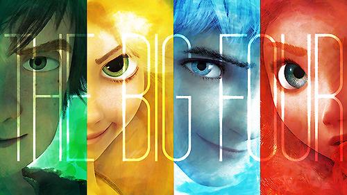 Le Big Four est un fandom composé de quatre personnages des studios Disney et Dreamworks : Raiponce, Mérida, Harold et Jack Frost. Cependant, si vous avez encore des difficultés à visualiser qui ils sont, cet article est fait pour vous !