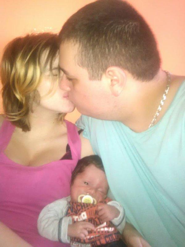 moi et ma femme et notre fils