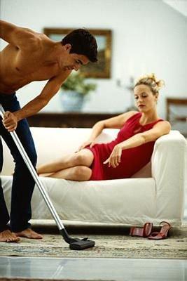 Un soumis est aussi un homme de ménage.. :)