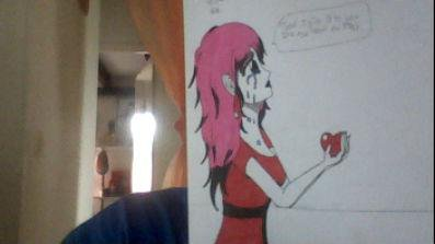 Un dessin de moi DSl pour la qualitée c'est ma web cam --''