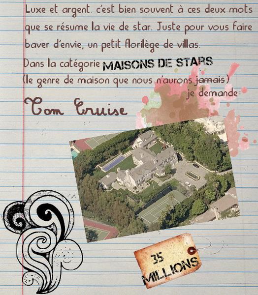 Maisons de stars, partie 1