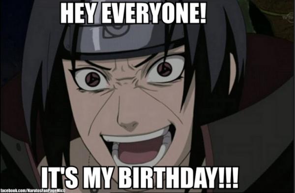 Joyeux anniversaire itachi !! t'a pris 23 ans le dimanche 9 juin !!