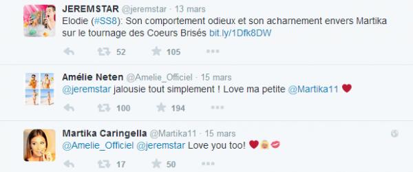 La villa des c½urs brisés : Amélie prend partie aux rumeurs d'acharnement sur Martika !