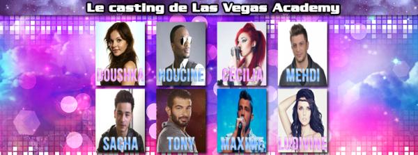 Las Vegas Acedemy : Les 8 premiers candidats officiels !