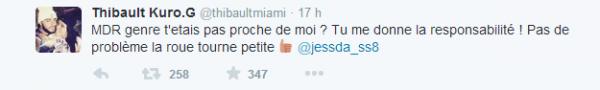 Les Anges 7 : Thibault et Shanna clash Jessica sur twitter !
