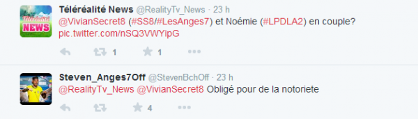 Les Anges 7 : Steven tacle Vivian !