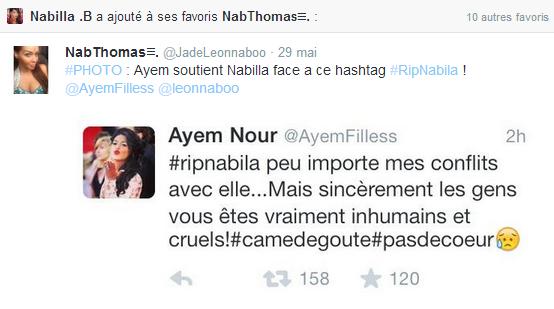 Nabilla : Bientôt une réconciliation avec Ayem ?