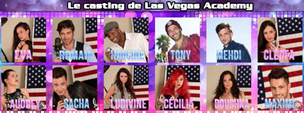 Las Vegas Acedemy : Les photos officielles des candidats ! (+ Sondage)