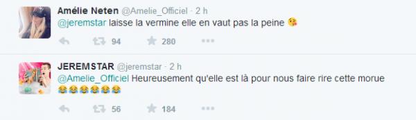 Jeremstar et Amélie Neten : Ils clashent Sacha et Elodie de Secret Story 8 !