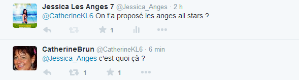 Les Anges All-Stars : Catherine candidate ? Sa réponse