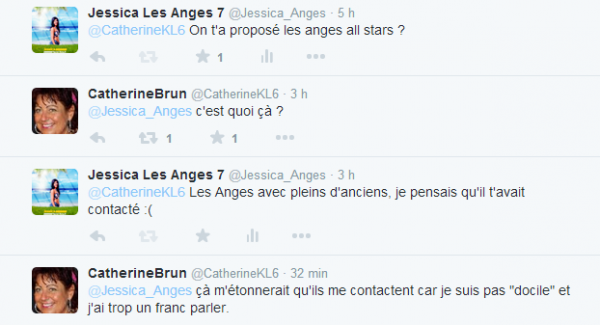 Les Anges All-Stars : Catherine candidate ? Sa réponse (Partie 2)
