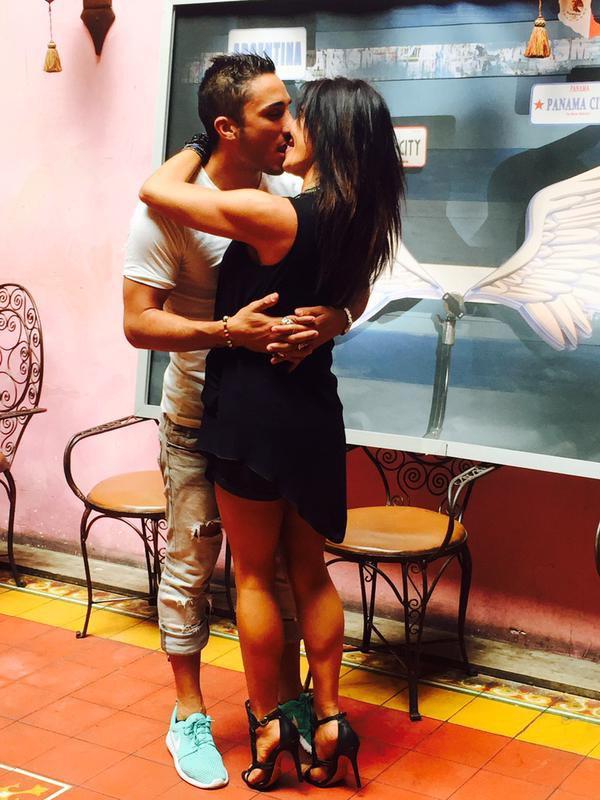 Les Anges 7 : Nathalie et Vivian se sont embrassés cet après-midi à Paris !