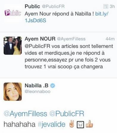 Nabilla : Quand Ayem et son ancienne meilleure amie se ligue contre Public !