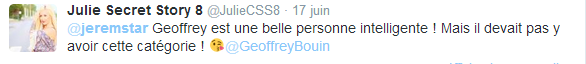 """Les princes de 'amour 3 : Julie (#SS8) envoie une pique à Geoffrey sur le fait qu'il soit dans la catégorie """"séducteur"""" !"""