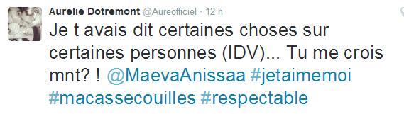 Le Mag : Aurélie clash à son tour Capucine ?