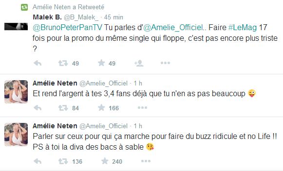 """Les anges 7 : Amélie clash Bruno Moneroe après ses déclarations à son sujet """"Faire 100 fois la même télé-réalité, c'est triste"""""""