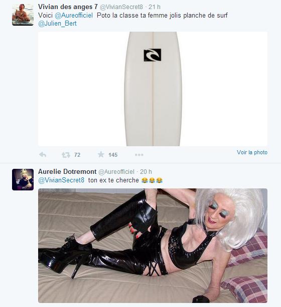 #LVDA : Aurélie et Vivian s'amuse à se tacler sur twitter !